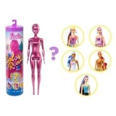 Imagem de Barbie Color Reveal Estilo Surpresa Série Shimmer Mattel