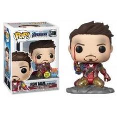 Imagem de Funko Pop Iron Man(I am Iron Man) PX Exclusive #580 - Avengers Endgame - Vingadores Ultimato - Marvel