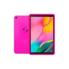 Imagem de Capa Case Silicone Emborrachada Para Samsung Galaxy Tab A7 T505 T500 10.4'' 2020 Rosa