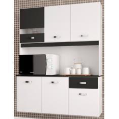 Imagem de Cozinha Compacta 1 Gaveta 6 Portas Lili Poquema