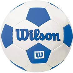da63d10cd3 Foto Bola de Futebol Tradicional Mini Azul  1 - Wilson