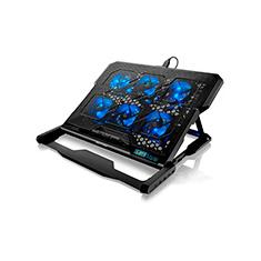 Foto Base p/notebook c/6 coolers + 2 usb LED azul AC282 Multilaser | Kalunga