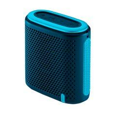 Foto Caixa de Som Pulse Mini Bluetooth 10W RMS Verde/Azul - SP237 | Kabum