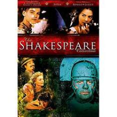 Foto DVD Shakespeare Collection- Importado - 4 DVDs | Submarino
