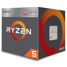 Foto AMD Ryzen™ 5 2400G Quad Core - 8 Threads - 3.6GHz (Turbo 3.9GHz) - Cache 6MB - AM4 - TDP 65W - Radeon™ VEGA Graphics - YD2400C5FBBOX | Oficina dos Bits*
