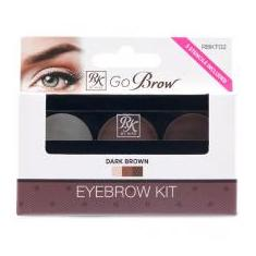 Foto Rk kiss new york go brow eyebrow kit - dark brown | Magazine Luiza.