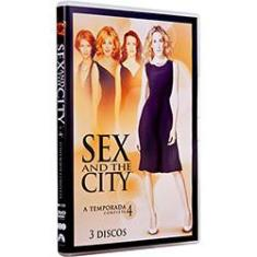 Foto Coleção Sex and The City - A 4ª Temporada Completa (3 DVDs) | Shoptime