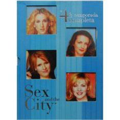 Foto Dvd Sex And The City - 4ª Temporada Completa | Submarino