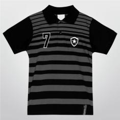 9878b22b95 Foto Camisa Polo Juvenil Botafogo Fio Tinto - Unissex