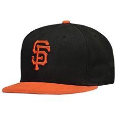 Boné New Era MLB San Francisco Giants 5950 Preto e Laranja. New Era  Aba  Reta ... 38f7aa7ae1d