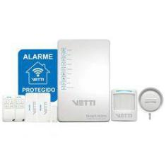 Foto Kit Alarme sem fio - Smart Alarm Kit com Gsm  VETTI | Submarino