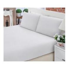 f3bb97e053 Foto Jogo de cama Solteiro Percal 200 Fios - 2 Peças Branco