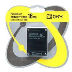 Foto Memory Card 16mb Playstation 2 – Oxy | Shoptime