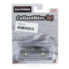 Foto Pontiac Trans Am 1977 Smokey and Bandit California Collectibles Série 3 Greenlight 1:64 | Submarino