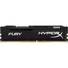 Foto Memoria 4gb Ddr4 2400 Hyper X fury Desktop HX424C15FB/4 KINGSTON | BestPlus*