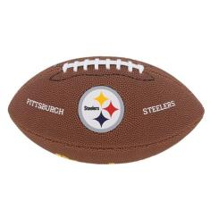 Foto Bola Futebol Americano Junior NFL Pittsburgh Steelers - Wilson | Carrefour-
