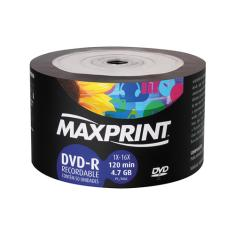 Foto Dvd-R Gravável 4.7 Gb-R Pino 50 Bulk | Wide Stock*
