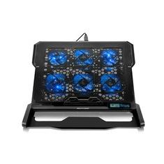 Foto Base para Notebook Multilaser Hexa com 6 Coolers até 17´ - AC282 | Kabum