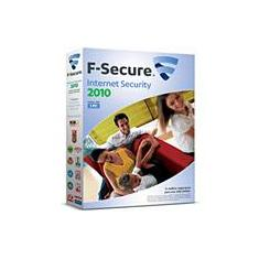 Foto F Secure Internet Security  p/ 1 PC 2010 - F Secure | Americanas