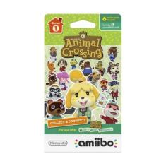 Foto AMIIBO CARDS ANIMAL CROSSING SERIES 1 - PACK C/ 6 - 3DS | Carrefour