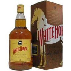 Foto whisky white horse 08 anos 1lt escoces | Submarino
