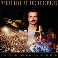 Foto Yanni Live At The Acropolis CD Eletrônica | Walmart -