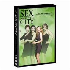 Foto Sex And the City - 3ª Temporada Completa com 3 DVDs | Walmart -