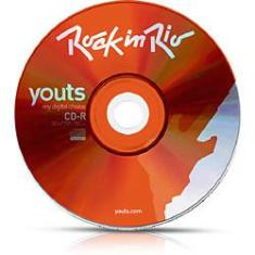 Foto CD-R Youts 52x Colorful Laranja - Rock In Rio - Microservice | Submarino