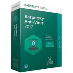Foto Kaspersky Anti Virus 2017 - 3Pc
