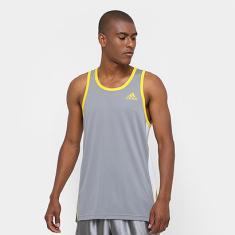 be2020bd4454a Foto Camiseta Regata Adidas Foundation Masculina - Masculino | Netshoes Ver  3 fotos
