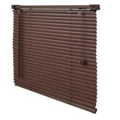 Foto Persiana Wood PVC 25Mm 140X160 Tabaco | Americanas