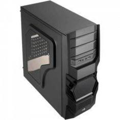 Foto Gabinete Gamer Mid Tower 3.0 Cyclops Advance Preto Aerocool | Americanas