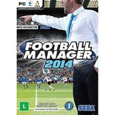 Foto Game Football Manager - 2014 - PC | Submarino