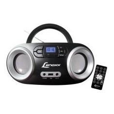 Foto Rádio Portátil Lenoxx FM 5W CD Player Display LED - Boombox BD 1360 Bluetooth Entrada USB | Magazine Luiza