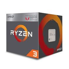 Foto Processador AMD Ryzen 3 2200G c/ Wraith Stealth Cooler, Quad Core, Cache 6MB, 3.5GHz (3.7GHz Max Turbo), VEGA, AM4 - YD2200C5FBBOX | Kabum