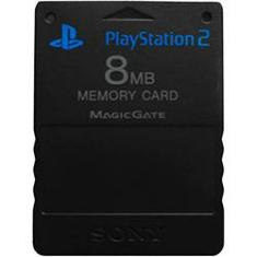 Foto Memory Card 8MB Sony - PS2 | Shoptime