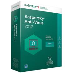 Foto Kaspersky Anti Virus 2017 - 10Pc