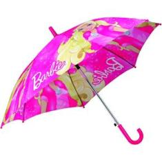 Foto Sombrinha Infantil Top Barbie 48cm | Extra -