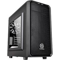 Foto Gabinete Thermaltake Versa H15 Black Case Window SECC CA-1D4-00S1WN-00 | Americanas