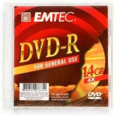 Foto Mini Dvd-R 1.4Gb Box Slim 4X Emtec 10647 | Carrefour-