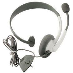 Foto HEADSET FONE DE OUVIDO COM MICROFONE PARA XBOX 360 VIDEO GAME | Makeda*