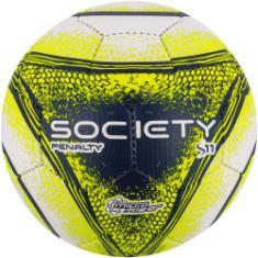 0685621c02 Foto Bola Society Penalty S11 R4 VIII - BRANCO AMARELO Penalty