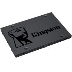 "Foto SSD Desktop Notebook Ultrabook Kingston A400, 120GB, 2.5"", Sata III 6 Gb/s - SA400S37-120G 