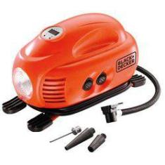 Foto Compressor Mini Digit 12V 100PSI ASI200 Black e Decker | Shoptime
