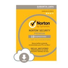 Foto Norton Security 10 Dispositivos 12 Meses - Digital para download | Kabum