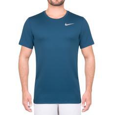 e16f0866c4 Foto Camiseta Nike Breathe Run Top SS Azul