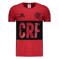 cf90dfe90 Camisas de Times de Futebol Casuais Flamengo Adidas FutFanatics ...