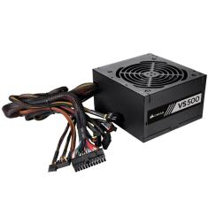 Foto Fonte Corsair VS500 (500 WATTS) 80 PLUS White - CP-9020118-LA | Bits & Bytes*