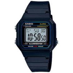 cf50af6e619 Foto Relógio Digital Masculino Casio W-217H-1AVDF - Resistente à água até  50m