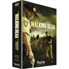 Foto Dvd The Walking Dead - Os Mortos Vivos 2ª Temporada (4 discos) | Americanas